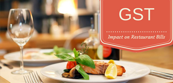 Impact of GST on Restaurants bills