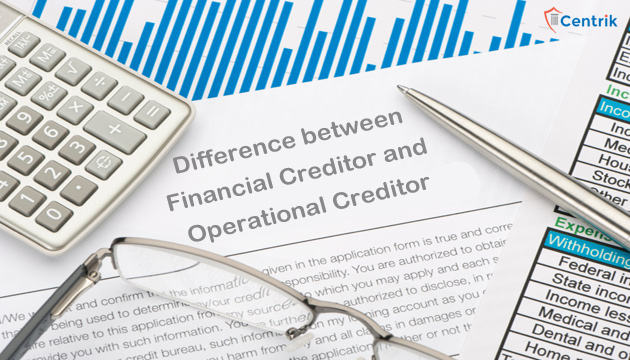 Difference between Financial Creditor and Operational Creditor
