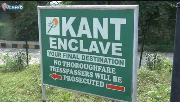Supreme Court ordered to demolish the constructions at Kant Enclave