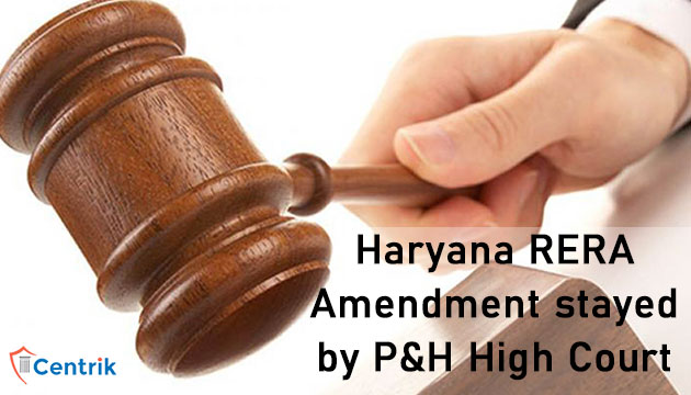 Haryana-RERA-Amendment-stayed-by-punjab-and-haryana-High-Court