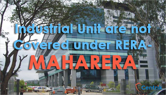 industrial-units-are-not-covered-under-mahaRERA