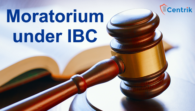 All About- Moratorium and its relevance under IBC