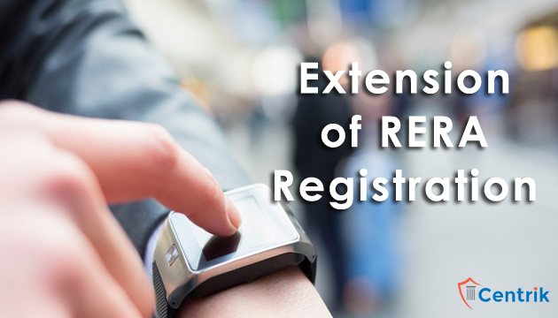 Extension of RERA Registration cannot deprecate Homebuyers Right