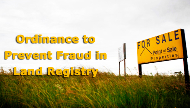 fraud-in-land-registry-new-ordinance-by-haryana-government